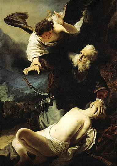 Bildergebnis für Abraham und Isaak